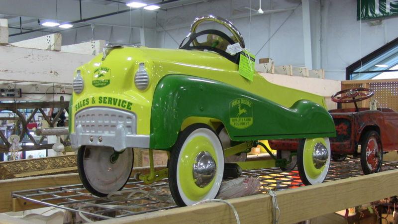 Antique John Deere Pedal Car