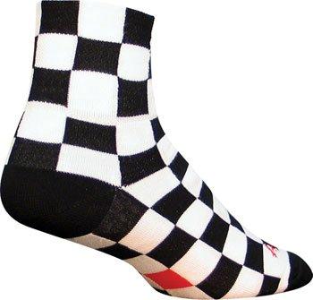 SockGuy Classic 3in Ridgemont Cycling/Running Socks (L/XL)