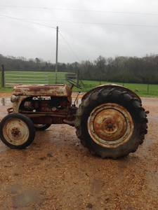 8N Ford Tractor (Brookhaven)