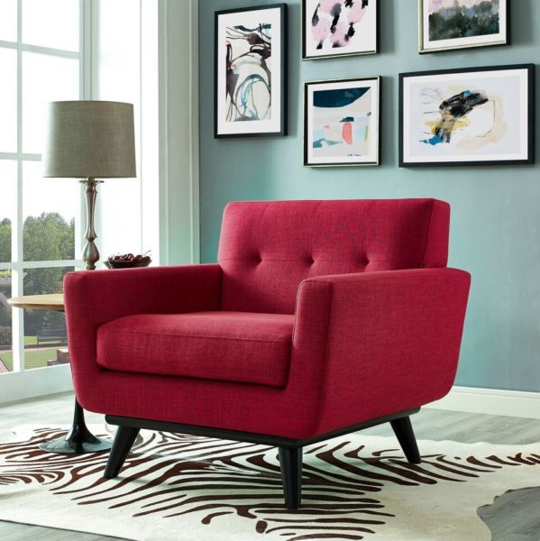 James Chair | Red