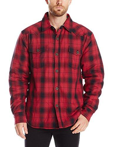 True Grit Men's Summit Plaid Shirt Jacket