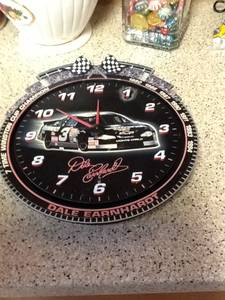Dale Earnhardt wall clock