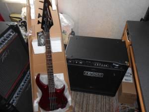 Peavey Bass /Fender Bass Amp (Clarkesville)