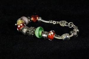 Pandora Dup Bracelet with Charms