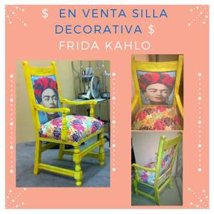 Decorative Chair (Frida Kahlo)