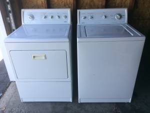 Kenmore Elite Dryer and 80 Series Washer
