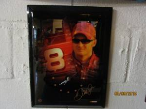 dale earnhardt clock (burlington)