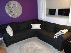 IKEA Sectional Couch Sofa (Hollywood)