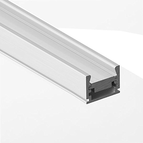 78.74 in. Anodized Aluminum REGULOR ZWK Channel with Aluminum Insert - For LED