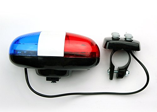 Police Siren Bike LED Light for Kids