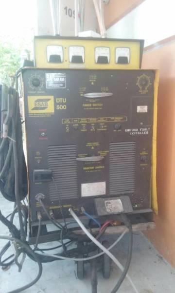 Tig and stick welder machine AC \DC