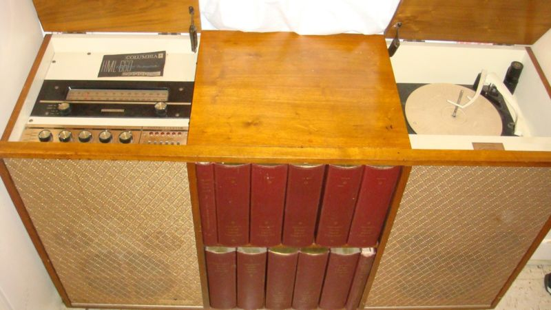 1960's Columbia Stereo Console