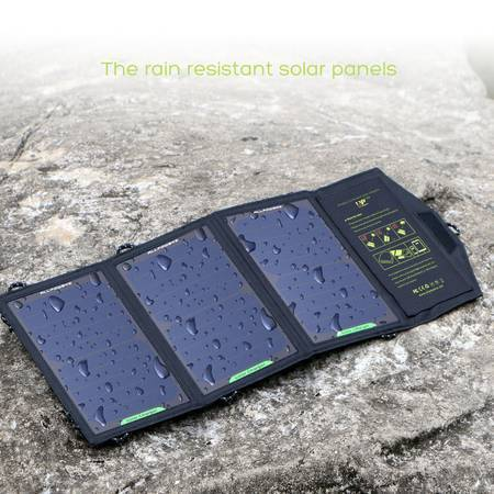 Waterproof 5V 15W SUNPOWER Solar Panels Charger/Tablet or smartphone