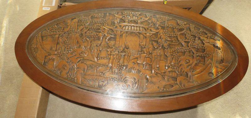 Oriental Carved wood furniture
