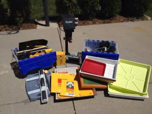 Lot of Old Darkroom Equipment and Supplies (Bloomfield Township)