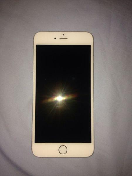 White/Silver iPhone 6 Plus 16gb