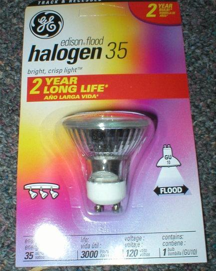 GE Halogen Lamps