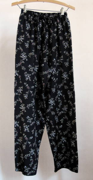 Women's Floral Print Pants