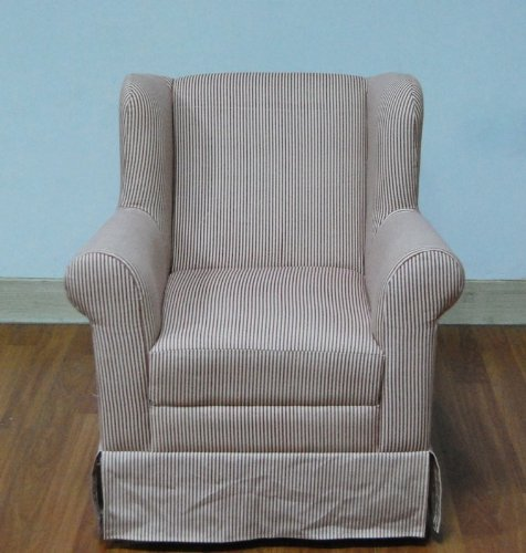 4D Concepts Wingback Arm Chair