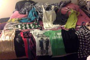 Cleaning out my closet