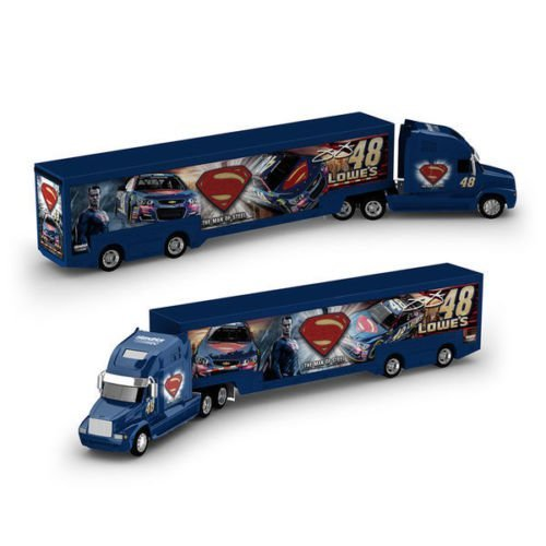 Lionel Nascar Collectables Jimmie Johnson 48 Lowe's 1/64 Scale Superman Hauler