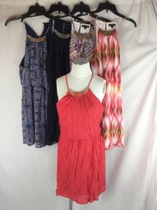MACY'S NWT 100's of styles/Sizes Juniors clothing Rummage Sale $8 ea.