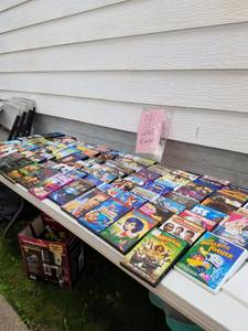 Last day for rummage $10 fill a bag (south milwaukee)