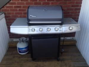 Five-burner Brinkman Outdoor Grill / BBQ (Logan Square)