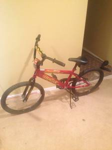 Gorgeous Kids bike with training wheels (Springfield)
