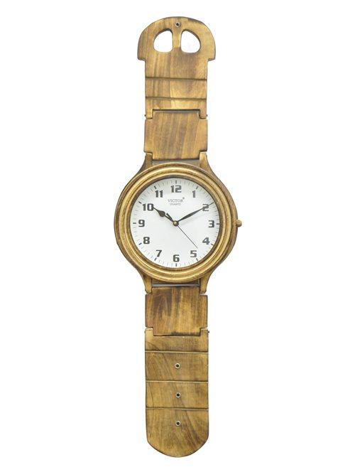 Classy Wood Wall Clock