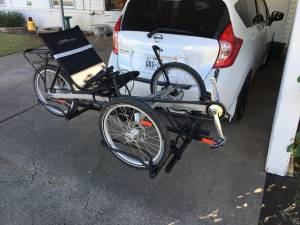 Terra Trike Rover 8 and Hollywood Rack (Westworth Village)