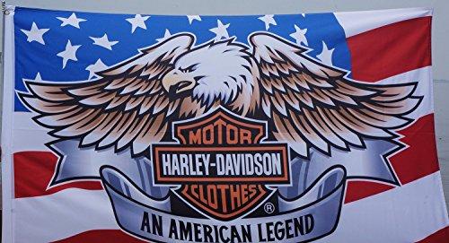 Harley Davidson flag Harley Davidson eagle motor flag Harley Davidson motorcycle