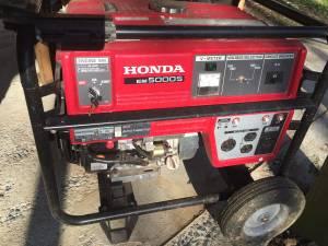 Generator - Honda EM 5000S (Glenwood, MD)