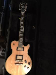 70's Ibanez PF-200 Les Paul guitar & HSC (Deanfield)