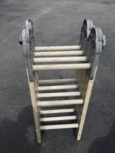 12ft. Louisville Fold Up Ladder (W Columbia)