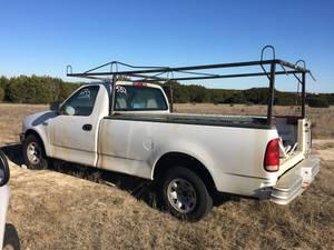 Pickup Equipment Rack!! (Bertram/Burnet Area)