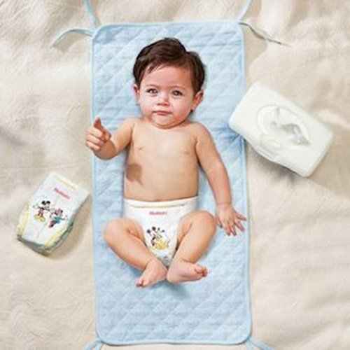 Huggies One and Done Refreshing Baby Wipes, Cucumber and Green Tea, Refill