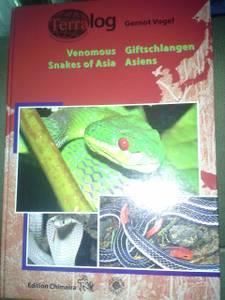 Terralog: Venomous Snakes of Asia, Vol. 14 (white hall)