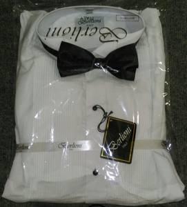 Tuxedo Shirt w/ Bow Tie - LG (Whitehall)