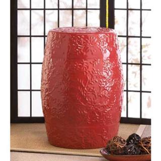 Sunset Ceramic Decorative Stool