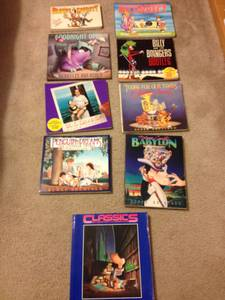 9 Books - Bloom County (cartoon) ULTIMATE book collection (westerville)