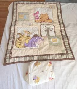 Winnie the Pooh Disney dreams of honey crib set
