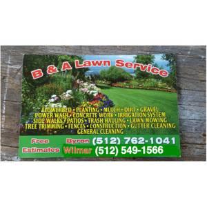 B&A Lawn Service