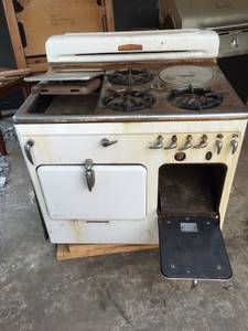 Antique Chamber cook gas stove
