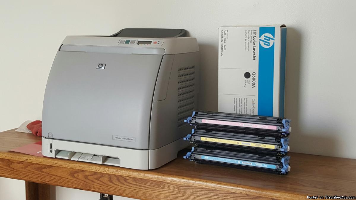 HP Color Laser Jet 2600n (Printer)