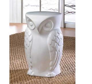 Wise Owl Decorative Stool
