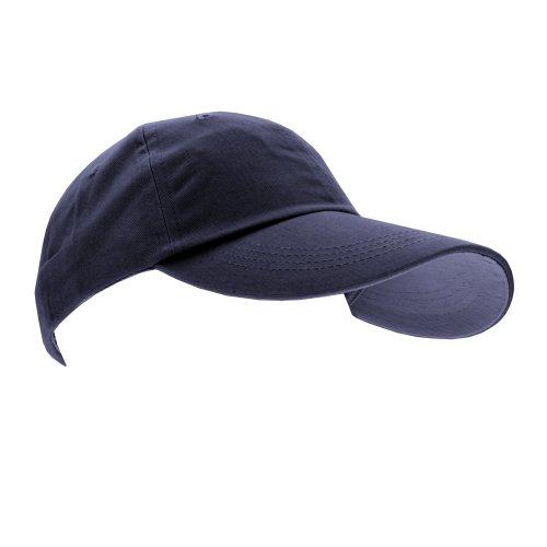 Anvil Unisex Contrast Low Profile Twill Baseball Cap / Headwear (One Size)