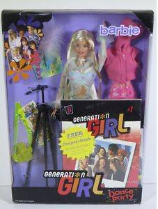 Collectible Vintage 1999 Generation Girl BARBIE Doll Dance Party NEW (North End