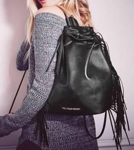Victoria's Secret Fashion Show Faux Leather Purse / Bag / Backpack (Berwyn