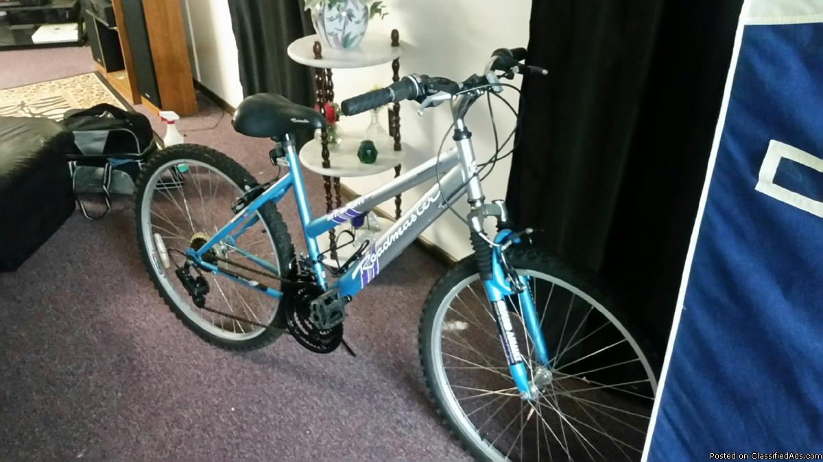 Ladys/Girls Roadmaster Mountain Bicycle For Sale - $65
